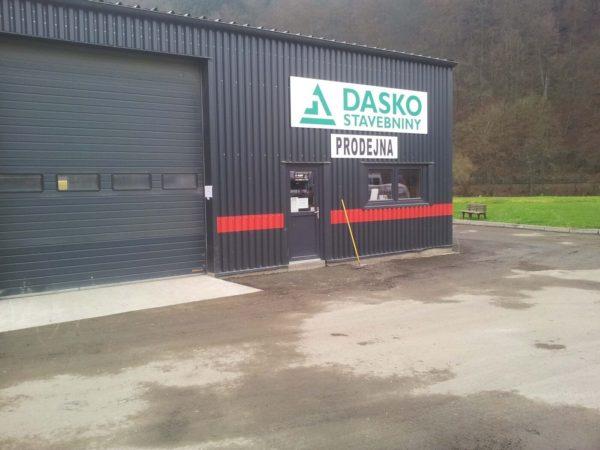 Asfaltování areálu DASKO