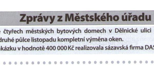 Sázavské listy prosinec 2009